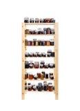 Shelves of homemade jam Royalty Free Stock Image