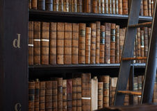 Shelves in The Long Roomin Trinity Stock Photos