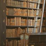 Shelves in The Long Roomin Trinity Stock Photo