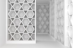 Shelves room Royalty Free Stock Image