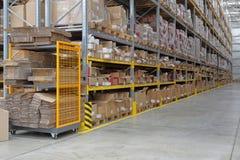 Shelving System Warehouse stock photos