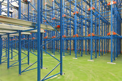 Shelving system warehouse Stock Photos