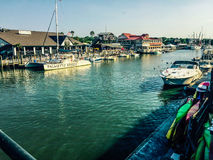 Shem Creek, Charleston, SC. Royalty Free Stock Photo