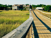 Shem Creek, Charleston, SC. Stock Photography
