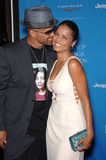 Shemar Moore,Victoria Rowell Royalty Free Stock Image