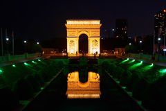 Shen Zhen Windows do mundo em China na noite Imagens de Stock Royalty Free