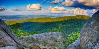 Shenandoah俯视HDR 库存照片