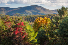 Shenandoah National Park in Autumn Stock Photography