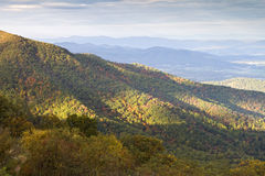 Shenandoah National park in Autumn royalty free stock photos