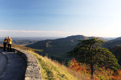 Shenandoah National park at the fall Stock Photography