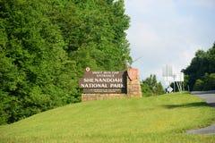 Shenandoah nationalpark, Virginia, USA Arkivfoton