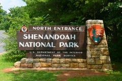 Shenandoah nationalpark, Virginia, USA Royaltyfria Foton