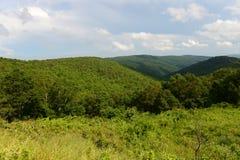 Shenandoah nationalpark, Virginia, USA arkivbilder