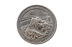 Shenandoah Quarter Coin Stock Photos