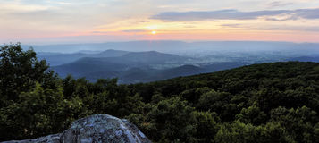 Shenandoah Sunset Royalty Free Stock Images