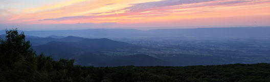 Shenandoah Sunset Royalty Free Stock Image