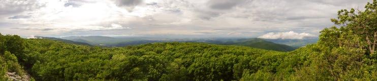 Shenandoah Valley Panorama Stockbilder