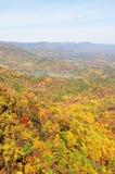 Shenandoah Valley. View of Shenandoah Valley during Fall season in Virginia, USA Royalty Free Stock Photo