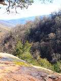 Shenandoah. A view from a cliff in the Shenandoah Mountains, Virginia Stock Photos