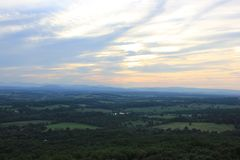 shenandoahdal virginia royaltyfri bild