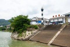 Shendu port Stock Photography