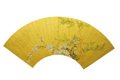 Sheng Zha Mei Bai Qing Jiang Tingxi with poetry and fan participation Stock Image