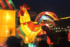 Shengjing lantern show Stock Photo