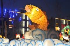 Shengjing-Laternenshow Stockbild