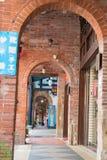 Shenkeng gammal gata - Tofuhuvudstaden i Taipei, Taiwan Royaltyfria Foton