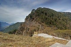 shennongjia för berg för porslinhubei liggande Arkivbilder