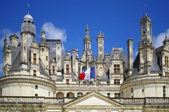 Shenonso Castle, France Royalty Free Stock Images