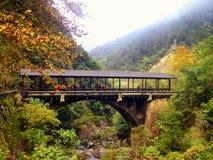 Shenxianju most z góry tłem obrazy royalty free
