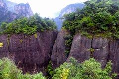 Shenxianju widok górski zdjęcia royalty free