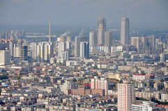 Shenyang CBD, China Stock Photography