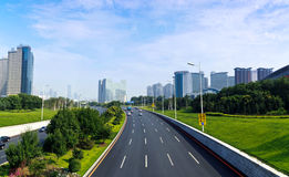 Shenyang City, Liaoning Province, Cityscape Royalty Free Stock Images