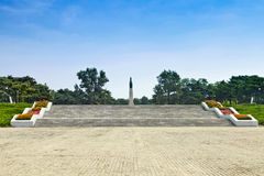 Shenyang City, Liaoning Province, the Korean War Martyrs Monument Royalty Free Stock Images