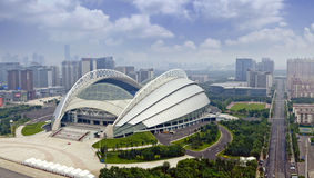 Shenyang City, Liaoning Province, Olympic stadiums Stock Photos