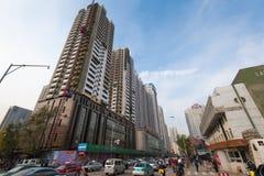 Shenyang de stad in Stock Fotografie