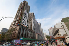 Shenyang downtown Stock Photography