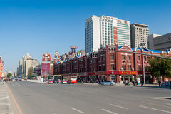 Shenyang downtown Stock Photo