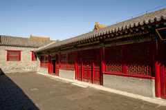 Shenyang Imperial Palace architecture Royalty Free Stock Photo
