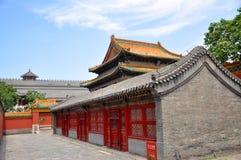 Shenyang Imperial Palace, China Royalty Free Stock Photography