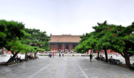 Shenyang Imperial Palace Chong Zheng Dian Stock Photos