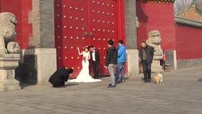 Shenyang imperial palace street Stock Image