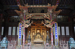 Shenyang imperialistisk slott, Kina Royaltyfri Bild