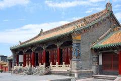 Shenyang imperialistisk slott, Kina Arkivbild