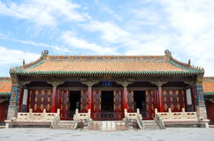 Shenyang imperialistisk slott, Kina Arkivfoto