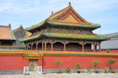 Shenyang imperialistisk slott, Kina Arkivfoton