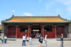 Shenyang imperialistisk slott, Shenyang, Kina Arkivbild