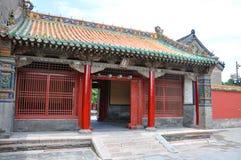 Shenyang Keizerpaleis, Shenyang, China Royalty-vrije Stock Foto